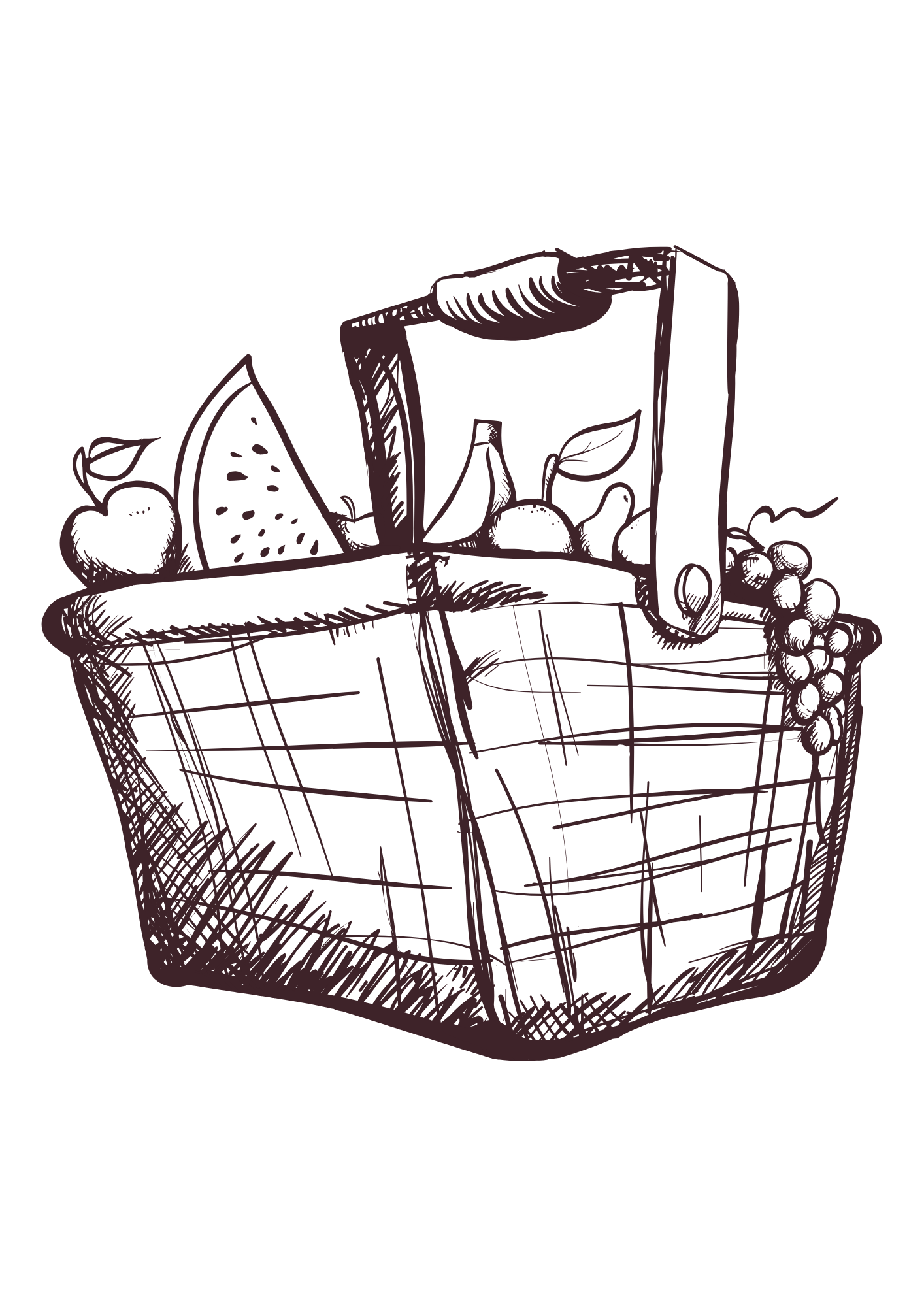 Image of 18th July - PICNIC HAMPER - Saturday Collection - 12:00-14:00