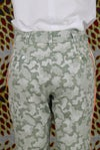 Pantalon Géo vert