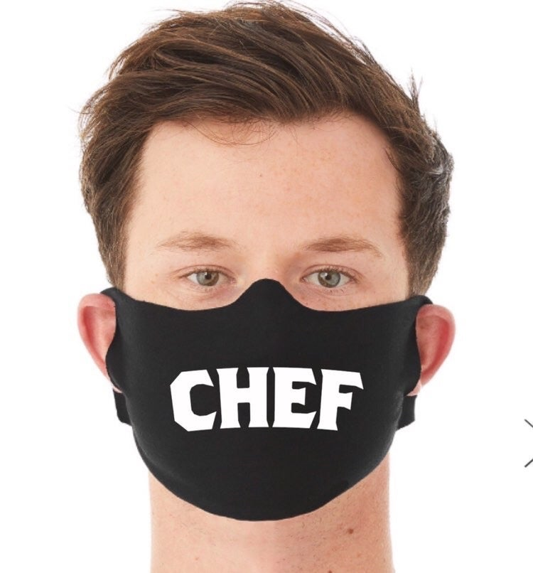 Image of ChefHatCo CHEF Facemask