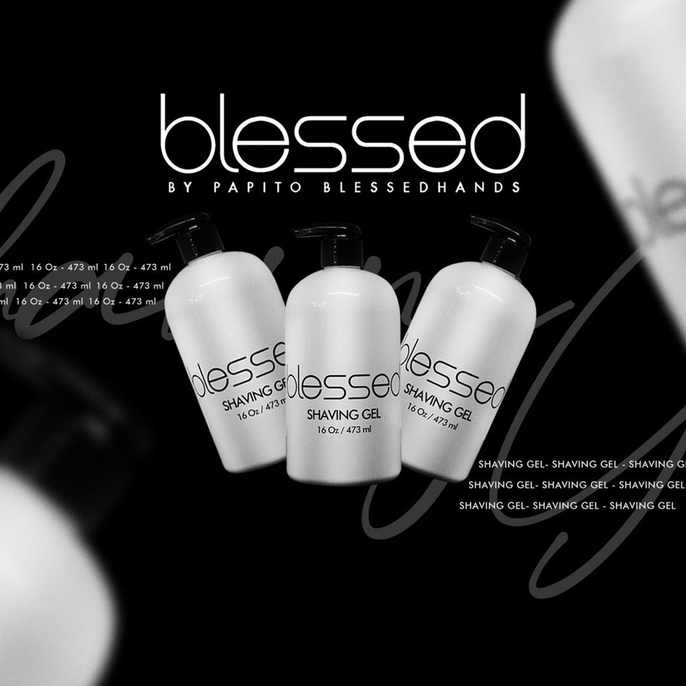 Image of Blessed Moisturizing Shave Gel Big Bottle 16oz 473 ml