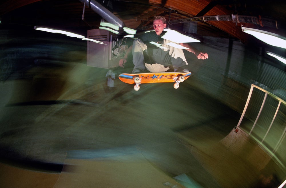Alan Petersen, Ollie, Sugar Hill skatepark, central California 97
