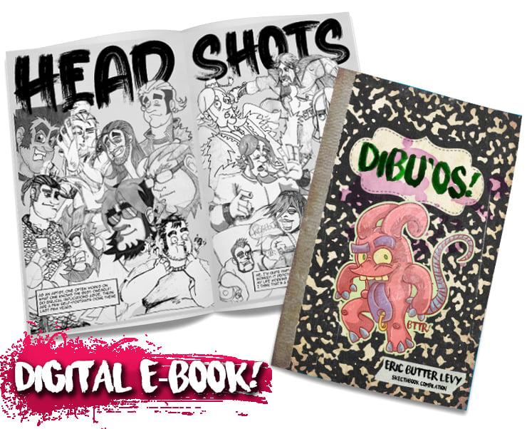 DIBU'OS! - A Sketchbook Compilation. [DIGITAL]