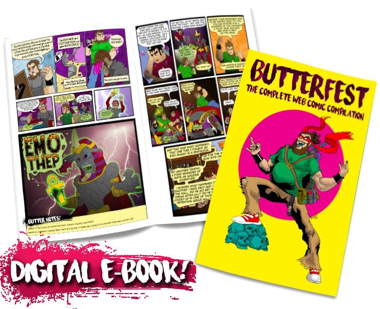 BUTTERFEST - The Complete WebComic Compilation [DIGITAL]