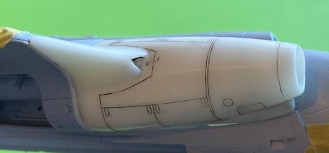 Image of Blackburn Buccaneer S.1 Intake Conversion