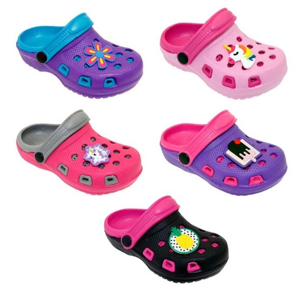 Image of Girls Two Tone Crocs