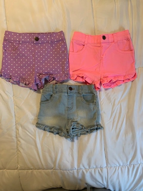 Image of Girls Ruffle Shorts