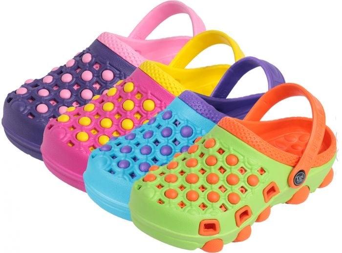 Image of Girls Bubble Crocs