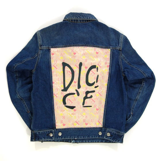 Image of Dio C'è WMN Denim Custom Jacket