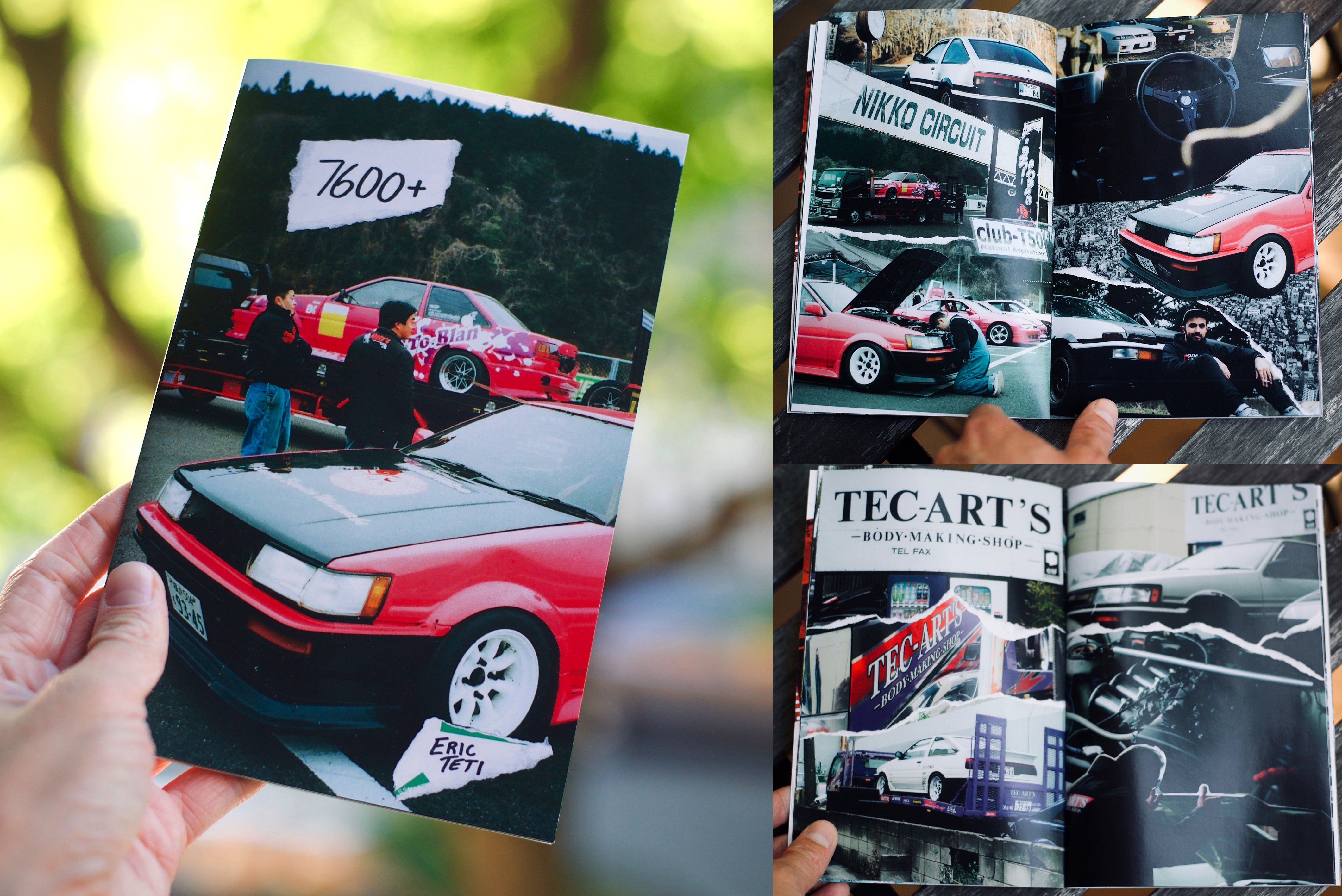 [Image: AEU86 AE86 - [Charity] AE86 magazine with 7600+ photos]