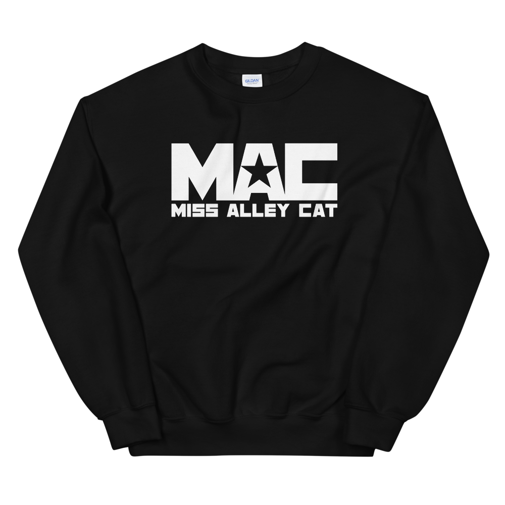 Image of Miss Alley Cat MAC Logo Crewneck