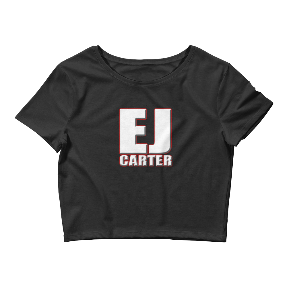 Image of EJ Carter Logo Women's Crop Tee