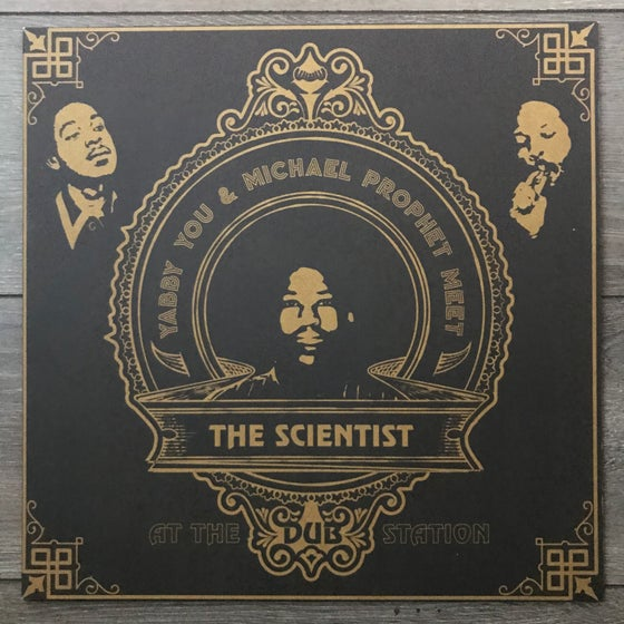 Image of Yabby You and Michael Prophet Meet The Scientist At The Dub Station Vinyl LP