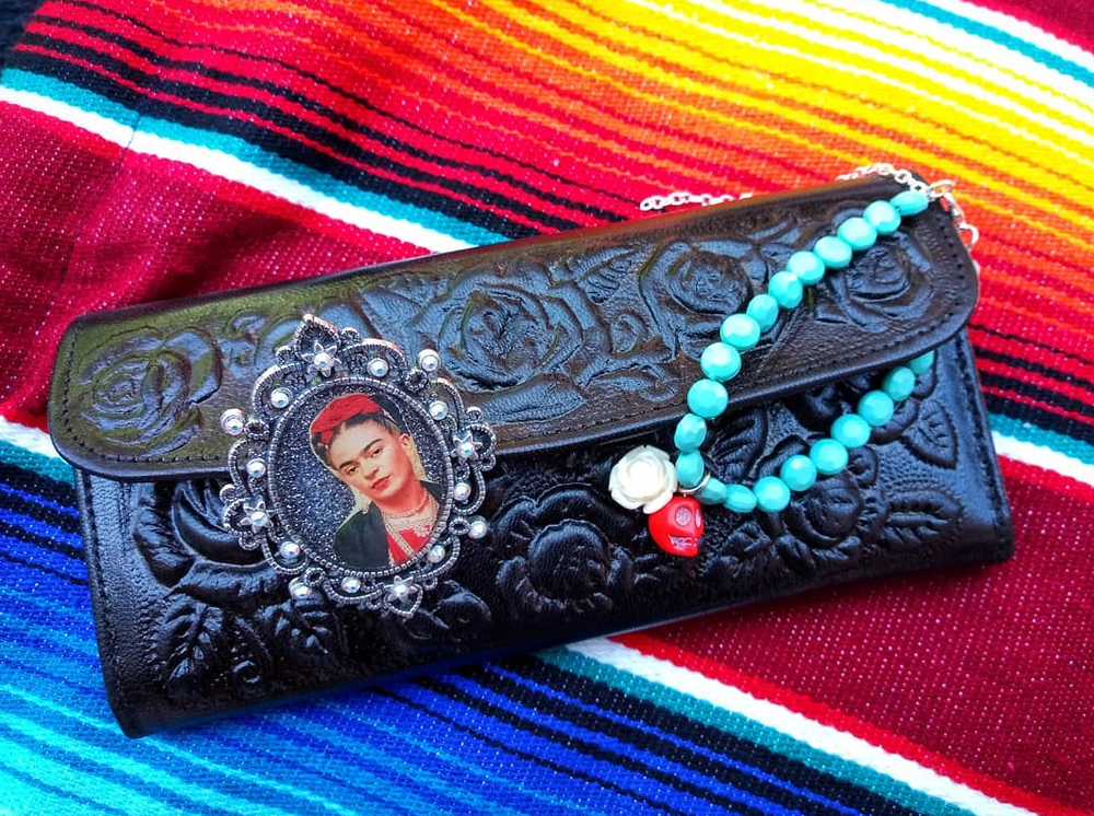 Image of Tooled Mexican Wallet
