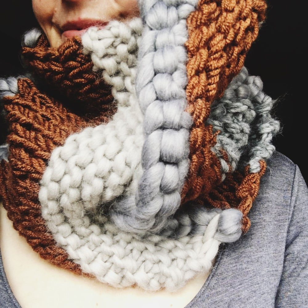 Image of Giant knit cowl