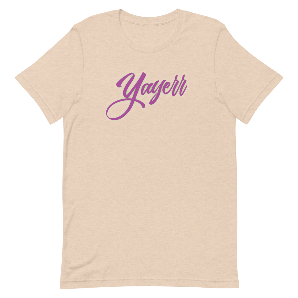 "Image of Simply Chris ""Yayerr!"" Tee - Heather Dust/Sand"