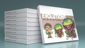 Image of 'Evolutions: The Art of Jeff Victor' Hardcover Coffee Table Book