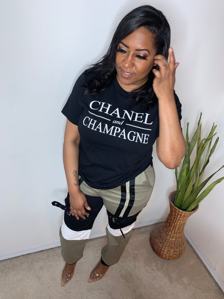 Image of Chanel & Champagne