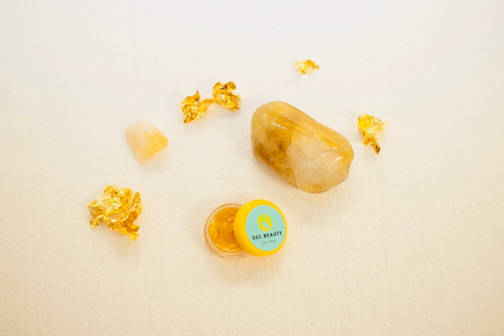 Image of 24K GOLD CITRINE LIP GLOSS