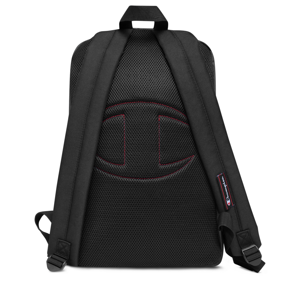 Image of Pi Town Alternate Logo Embroidered Champion Backpack OFFICIAL