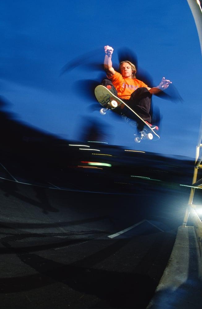 Natas kaupas, Ollie, Santa Monica 99 By Tobin Yelland