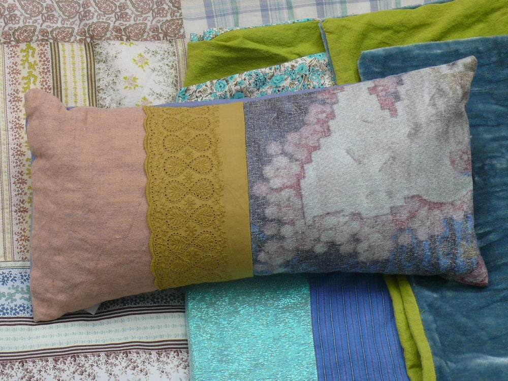 Image of Coussin le simplement rose faded