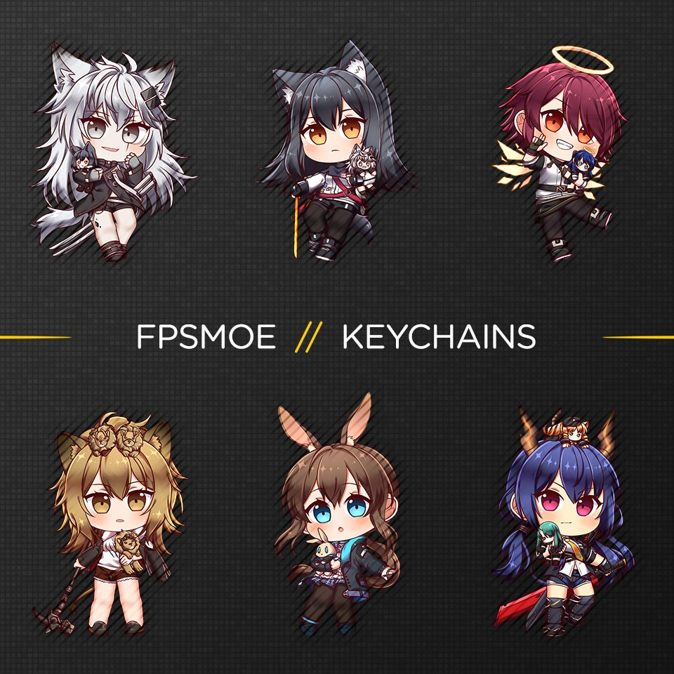 Image of Arknights Keychain