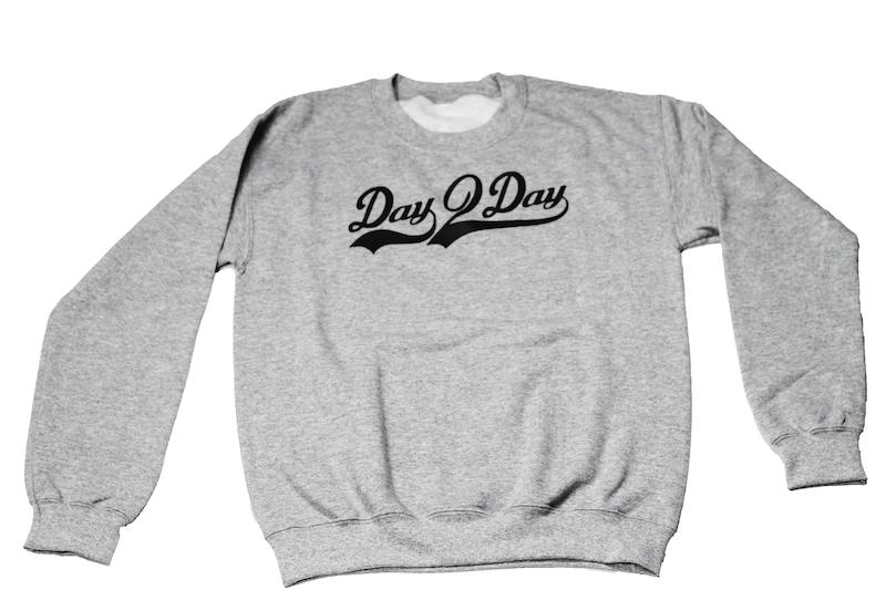 Gray/Black Signature Logo Sweatshirt