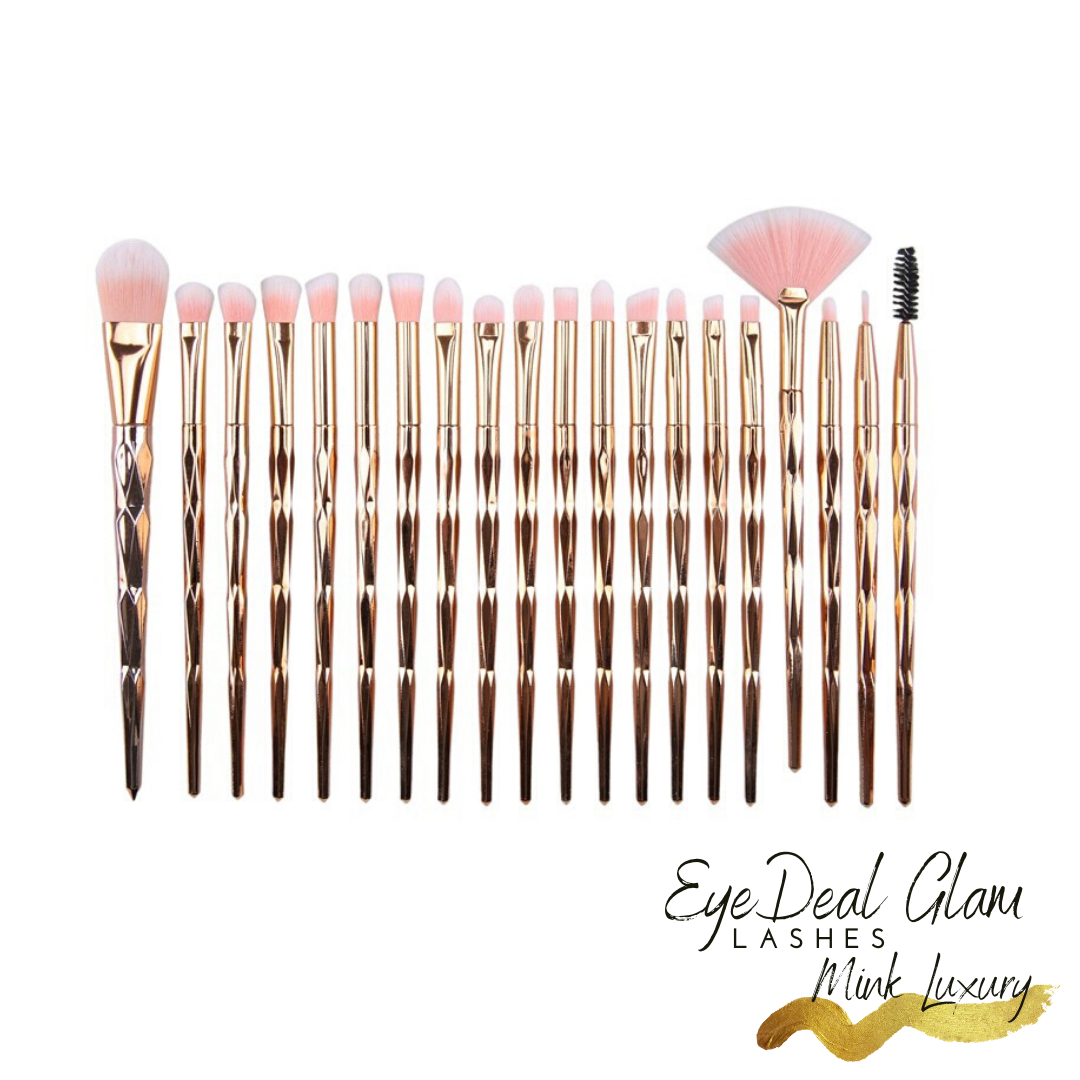 Glam Brushes-Gold