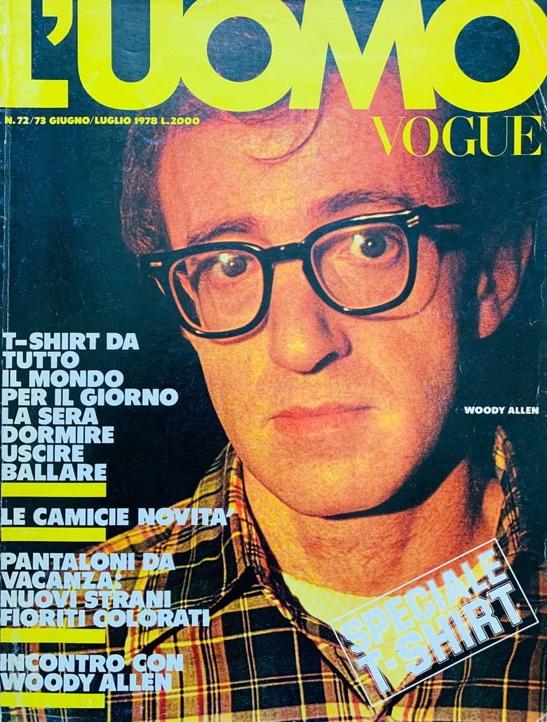 Image of (L'UOMO VOGUE)(N.72/73 1978)