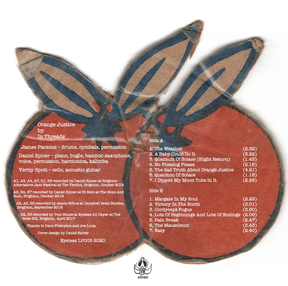 """In Threads """"Orange Justice"""" LP"""
