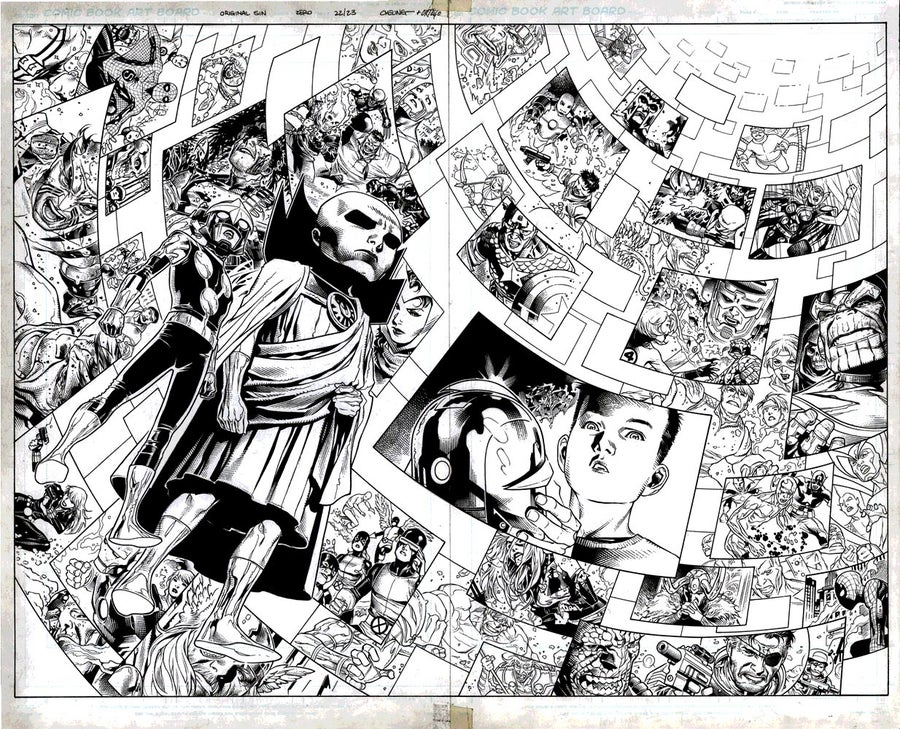 Image of ORIGINAL SIN #0 pages 22/23