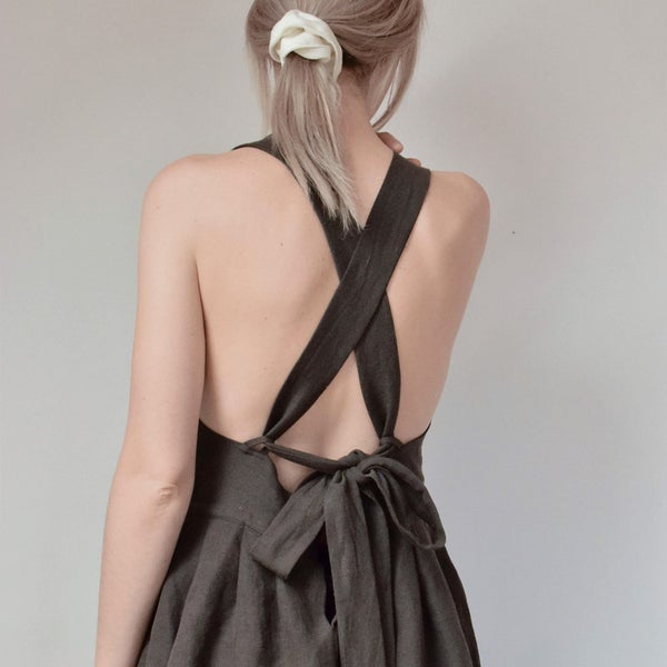 Image of  AMÁL Cross-Back Summer Dress
