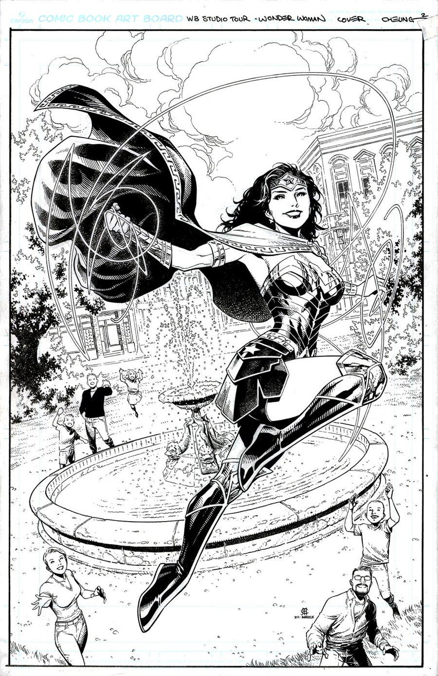 Image of WONDER WOMAN (WB Studios Tour Exclusive) TPB Cover