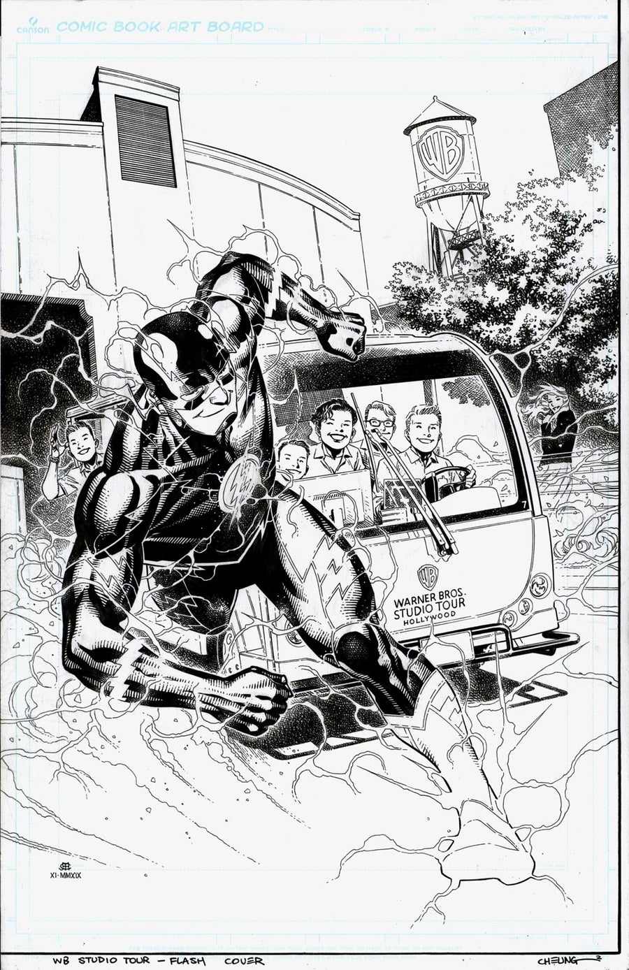 Image of FLASH (WB Studios Tour Exclusive TPB Cover)