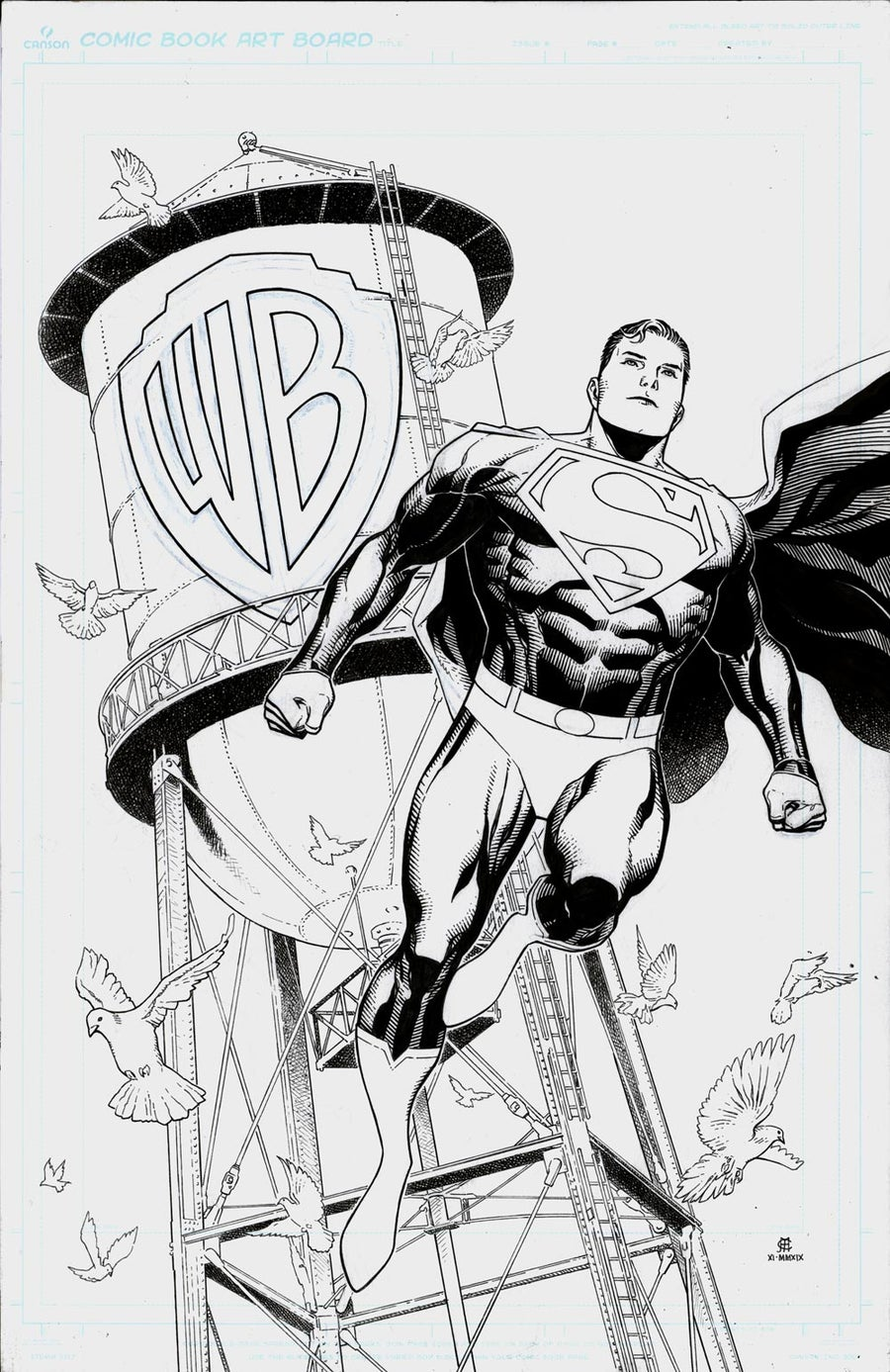 Image of SUPERMAN (WB Studios Tour Exclusive) TPB Cover