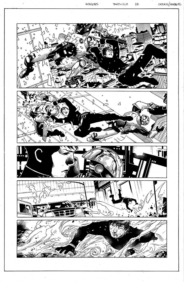 Image of AVENGERS #35 page 22