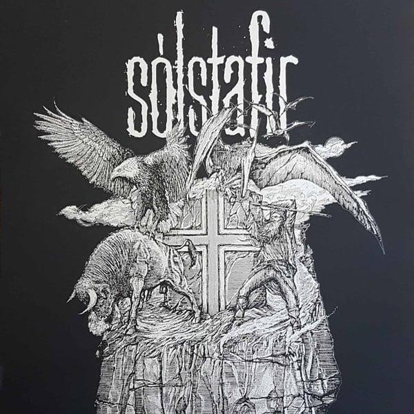 Image of SOLSTAFIR Icelandic Rock limited handprint LAST COPIES