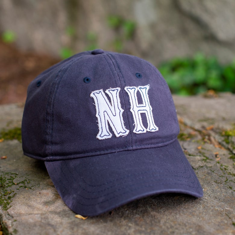 Image of Big NH Dad Hats - Navy/white