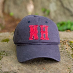 Image of Big NH Dad Hats - Navy/Red