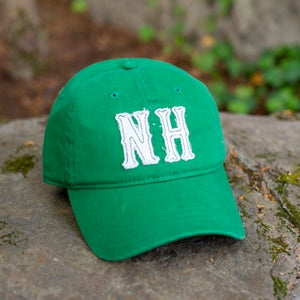 Image of Big NH Dad Hats - Green/White