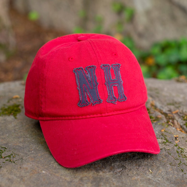 Image of Big NH Dad Hats - Red/Navy