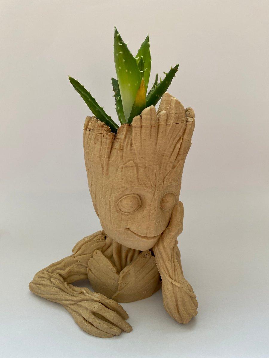 Image of Baby Groot Cactus Pot