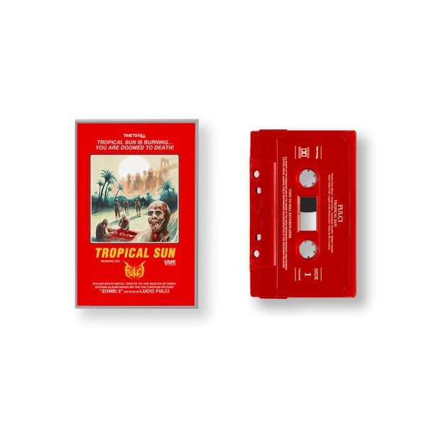 "Image of FULCI ""Tropical Sun"" - TAPE  EXCLUSIVELY LIMITED EDITION (red)"