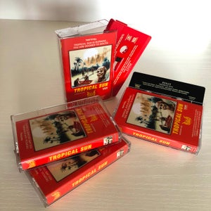 """Image of FULCI """"Tropical Sun"""" - TAPE  EXCLUSIVELY LIMITED EDITION (red)"""