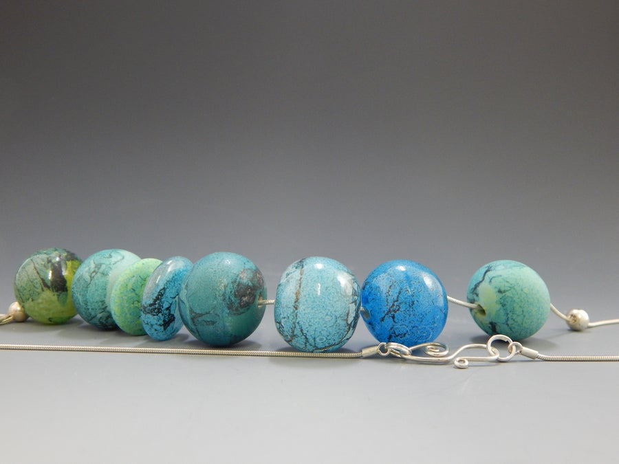 Image of Artisan Glass Jewelry • Copper Patina