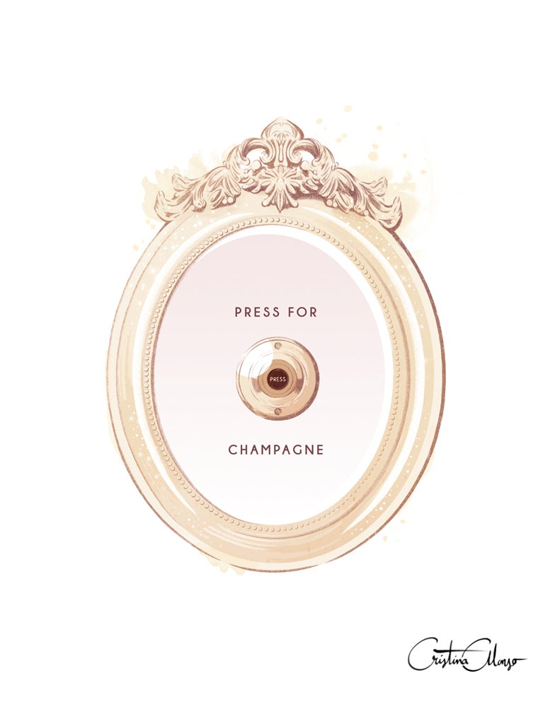 Image of Press for Champagne PRINT