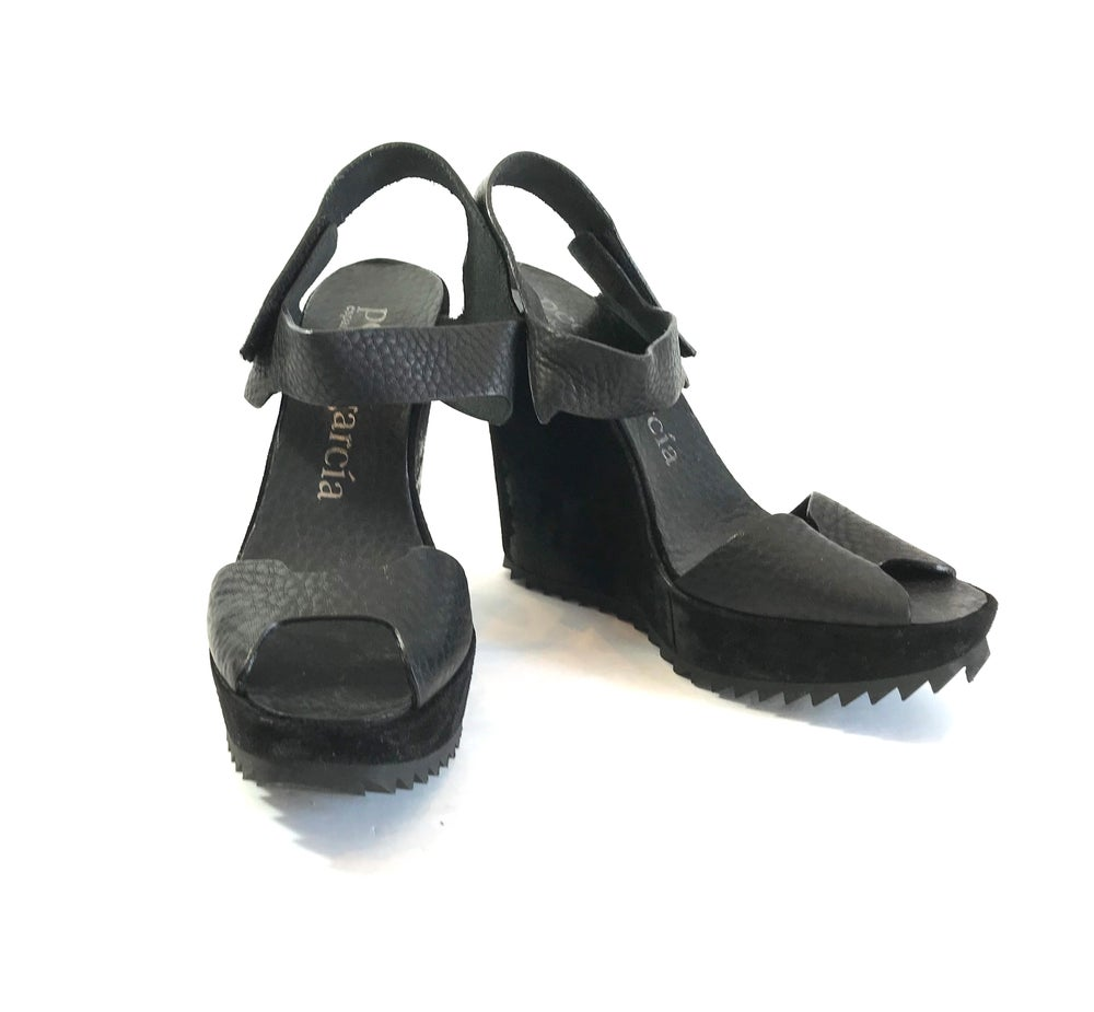Image of Pedro Garcia Size 38 Wedges 298-119