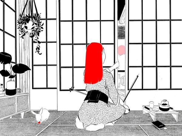 """Image of """"Tatami"""" (ilustración original)"""