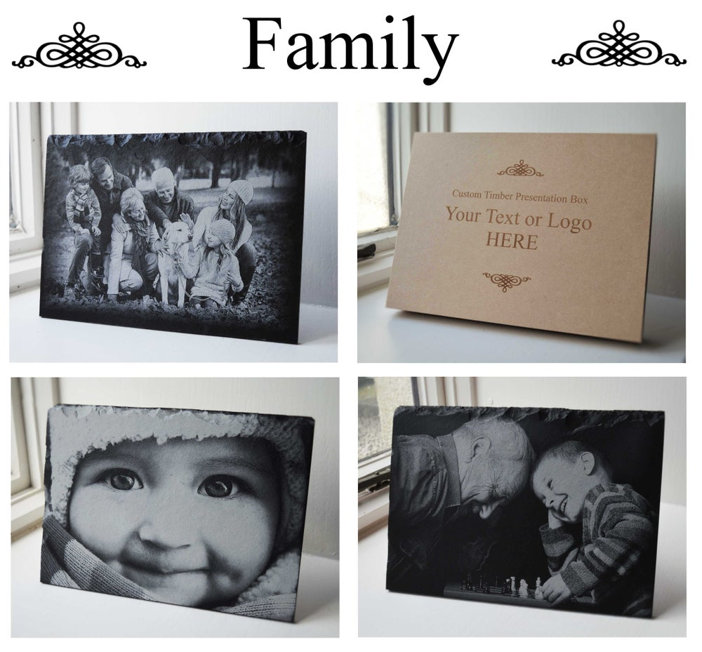 Personalised Engraved A4 Slate