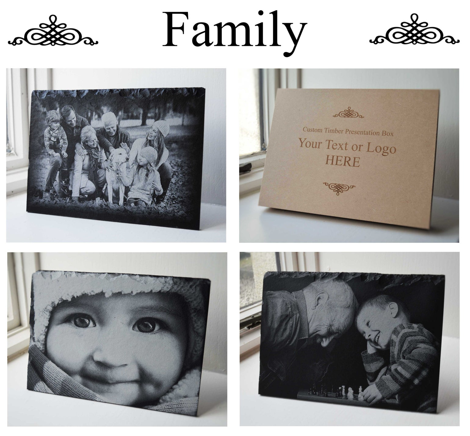 Image of Personalised Engraved A4 Slate